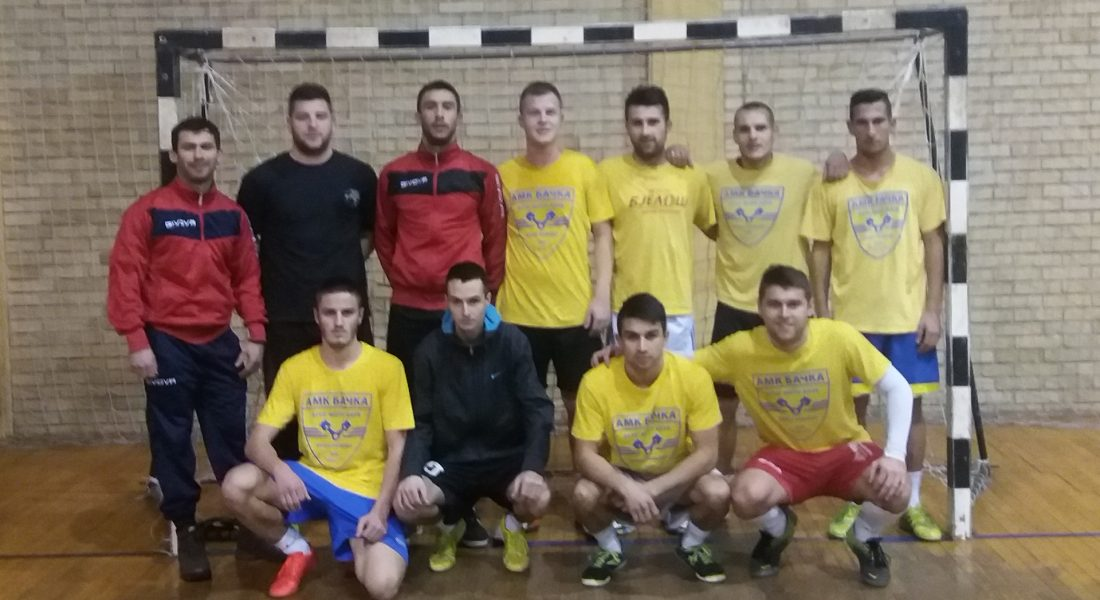 AMK Backa - pobednici turnira 2016