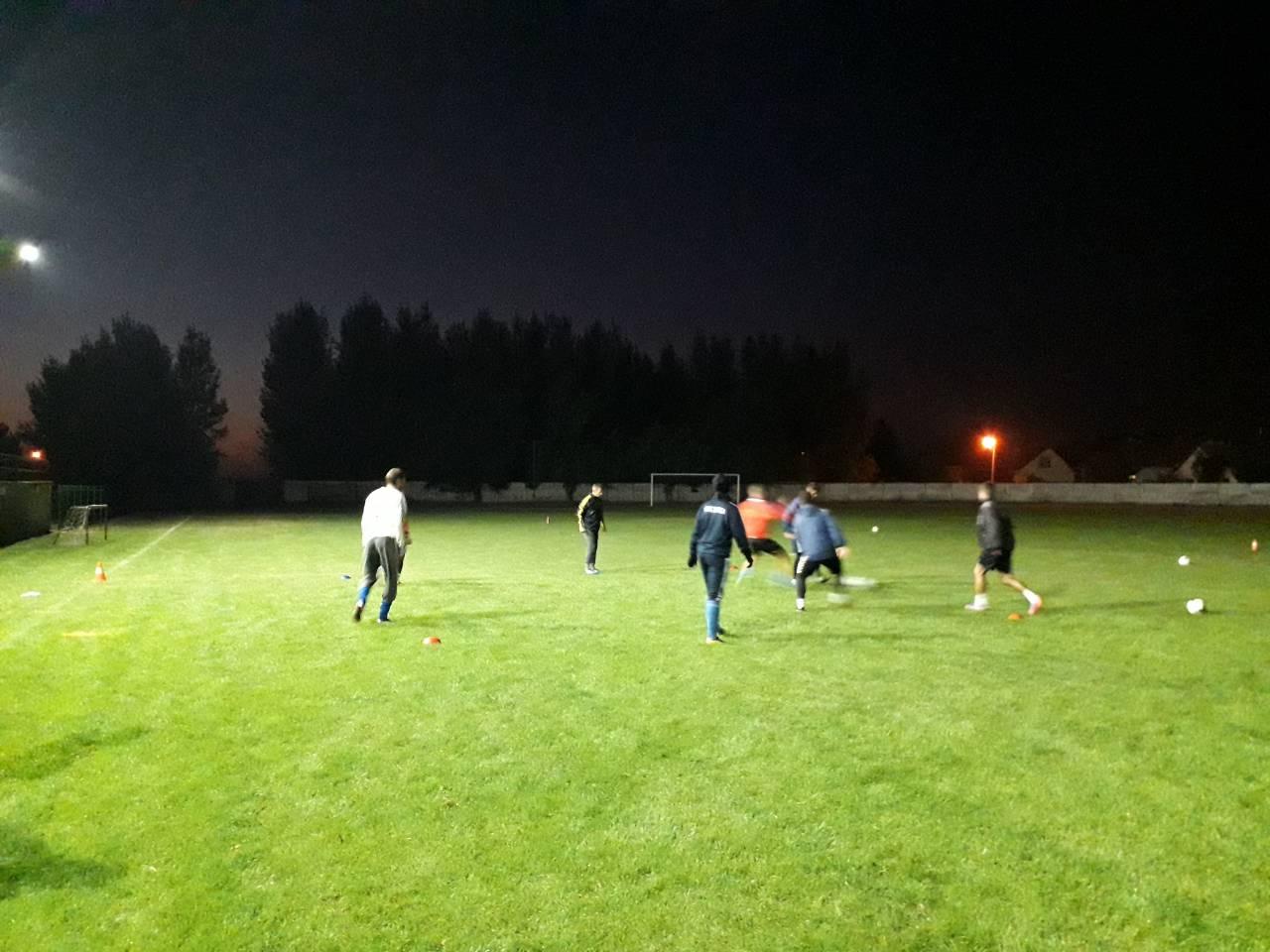 FK Vojvodina trenira pod LED reflektorima